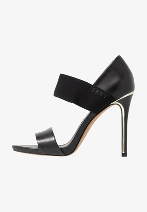 IVA STRAP - High heeled sandals - black