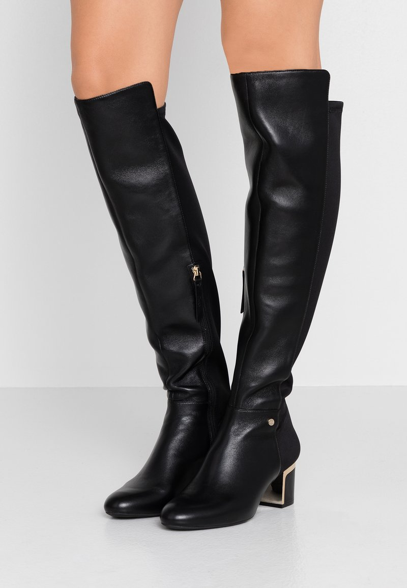 DKNY - CORA - Over-the-knee boots - black