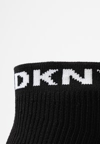 DKNY - LONDON WEDGE - Höga sneakers - black - 2