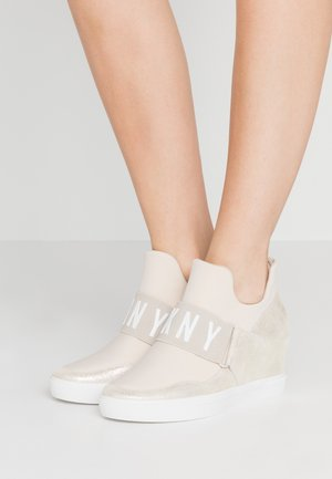 COSMOS WEDGE - Sneaker low - beige