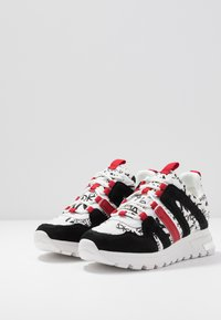 DKNY - MAY LACE UP  - Sneakers - white/black - 4