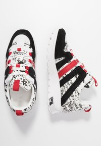 DKNY - MAY LACE UP  - Sneakers - white/black - 3