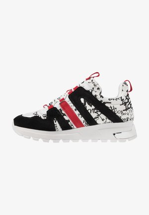 MAY LACE UP  - Sneakers laag - white/black