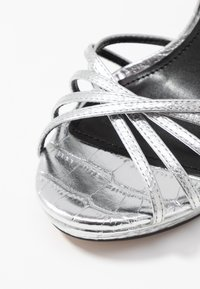 DKNY - LIPA ANKLE STRAP PLATFORM - High heeled sandals - silver - 2