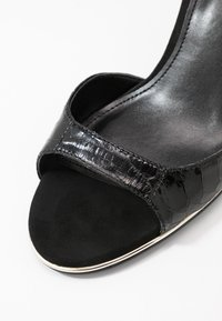 DKNY - GISELLE ANKLE STRAP - Sandals - black - 2