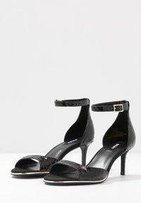 DKNY - GISELLE ANKLE STRAP - Sandals - black - 4