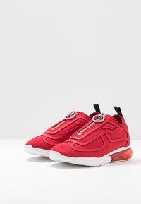 DKNY - NILLI ZIPPER - Sneakers - red - 4