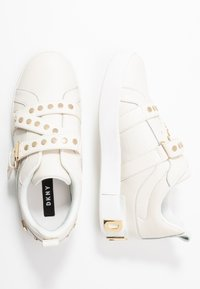 DKNY - STUDZ BANDS  - Sneakers - white - 3