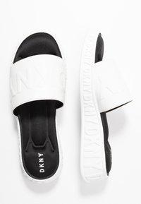 DKNY - MARA SLIDE - Sandaler - white - 3