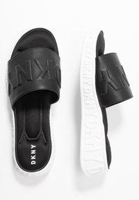 DKNY - MARA SLIDE - Sandaler - black - 3