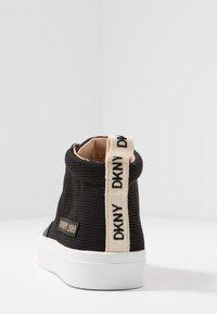 DKNY - RIVKA - Sneakers high - black - 5