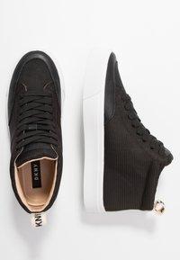 DKNY - RIVKA - Sneakers high - black - 3