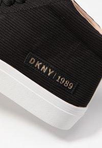 DKNY - RIVKA - Sneakers high - black - 2