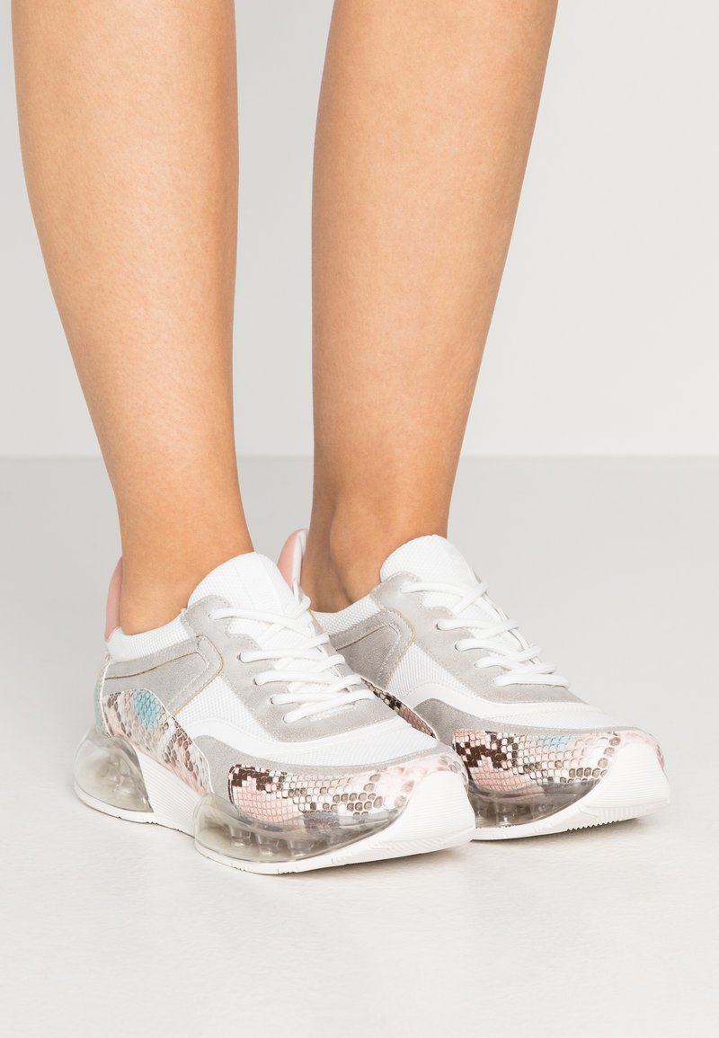 DKNY - BLAKE  - Trainers - white/blush/multicolor