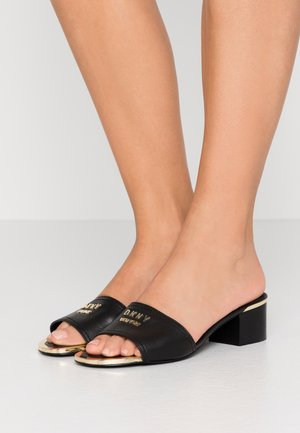 FAMA - Heeled mules - black
