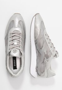 DKNY - ARLIE SLIP ON - Trainers - silver - 3