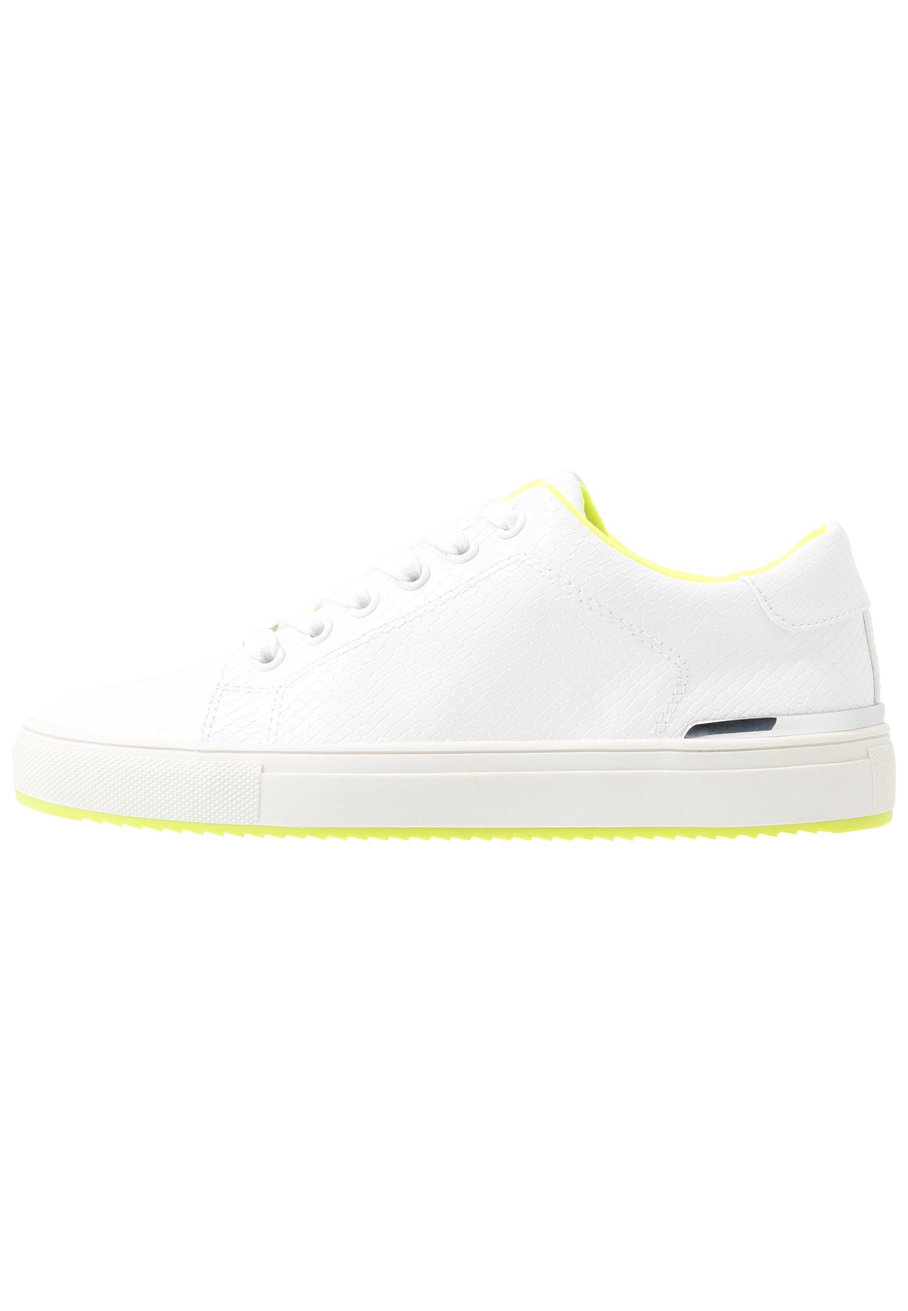 DKNY BINDA LACE UP - Sneakersy niskie - white