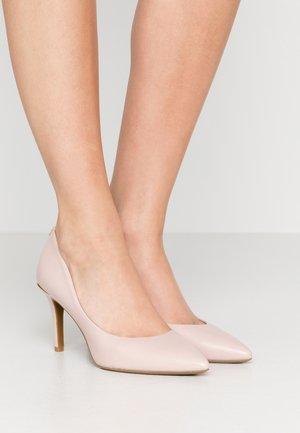 RANDI - Zapatos altos - blush
