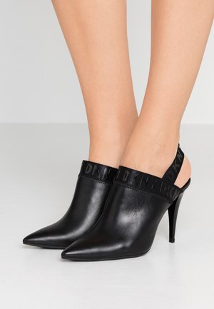 KRIS - High heeled ankle boots - black