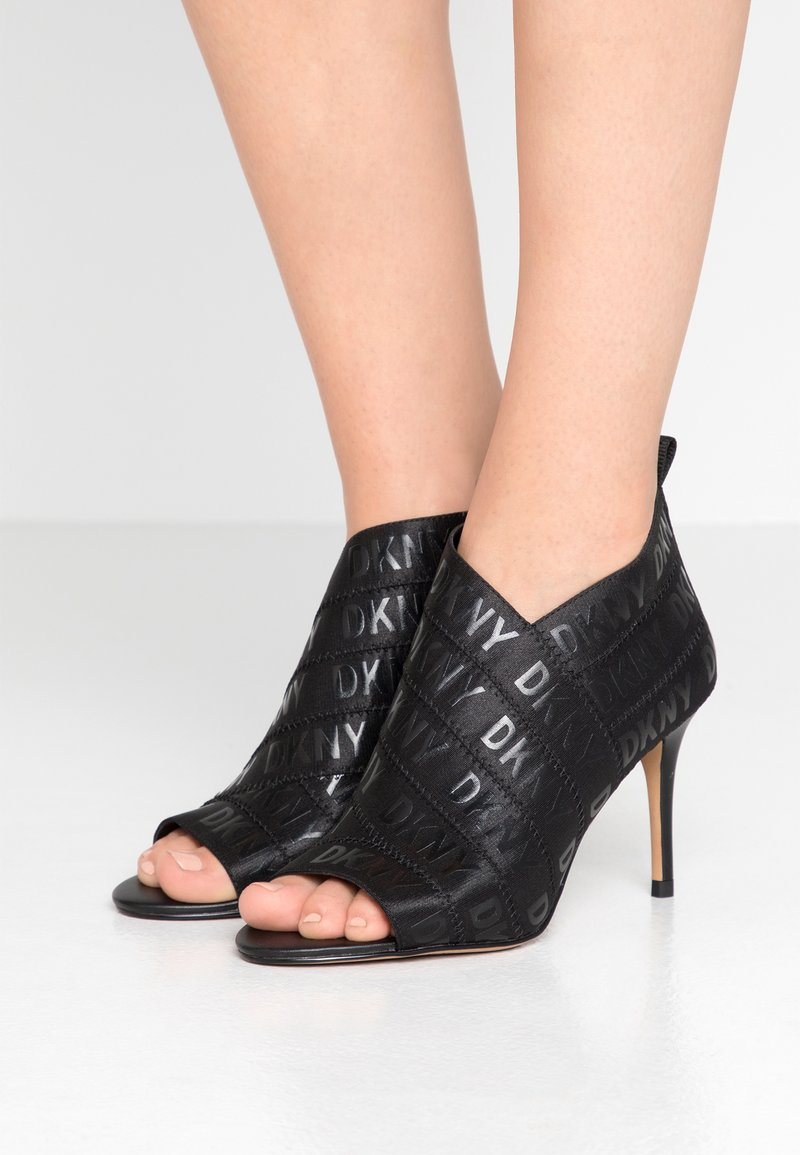 DKNY - ISSA - High heeled ankle boots - black