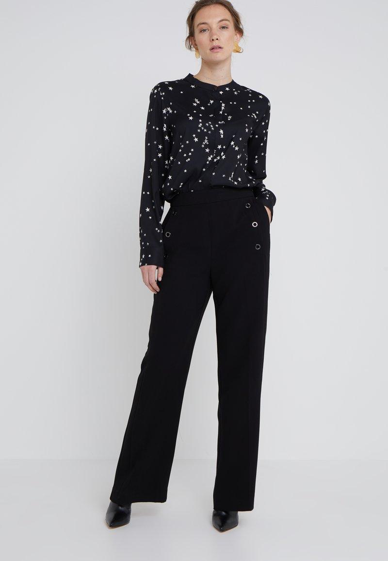 DKNY - SAILOR PANT  - Trousers - black