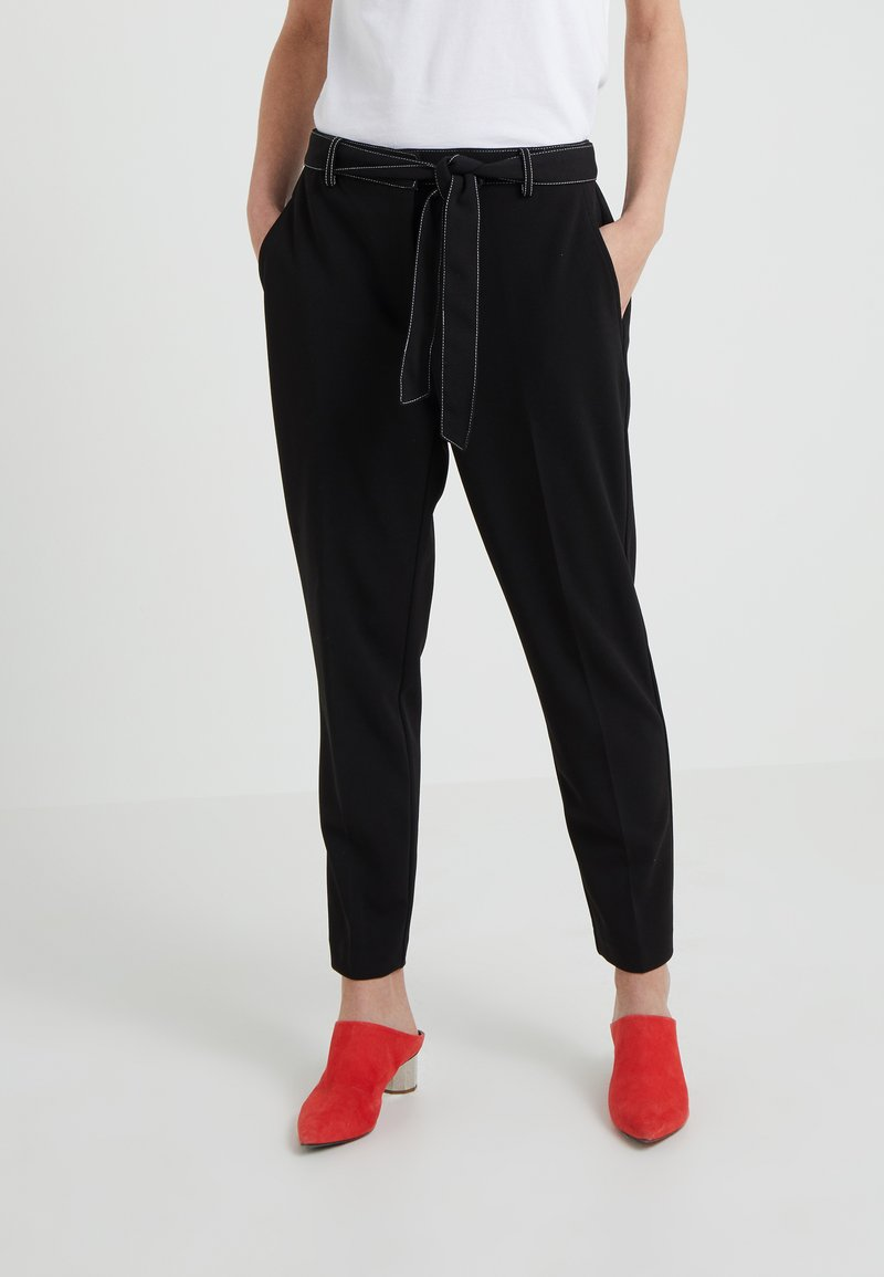 DKNY - Pantalon classique - black