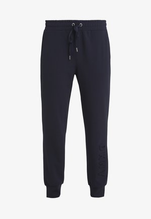 EMBOSSED LOGO - Trainingsbroek - new navy