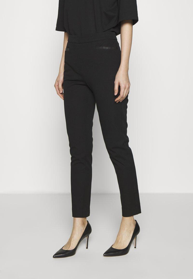 DKNY - TROUSER - Spodnie materiałowe - black