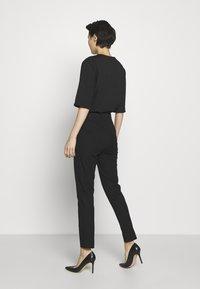 DKNY - TROUSER - Spodnie materiałowe - black - 2