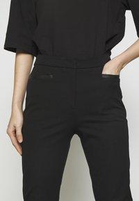 DKNY - TROUSER - Spodnie materiałowe - black - 6