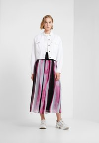 DKNY - PULL ON MIDI SKIRT - Maxikjol - freesia/multi - 1