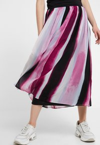 DKNY - PULL ON MIDI SKIRT - Maxikjol - freesia/multi - 4