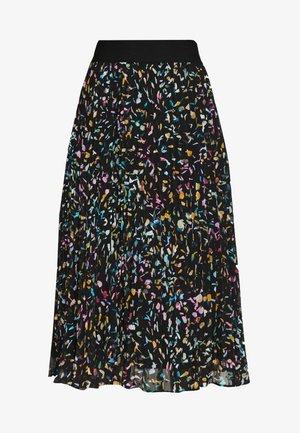 LUREX CLIP DOT SKIRT - A-snit nederdel/ A-formede nederdele - black