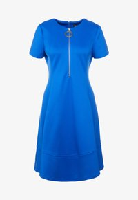 DKNY - FIT FLARE WITH ZIPPER - Robe d'été - royal - 4