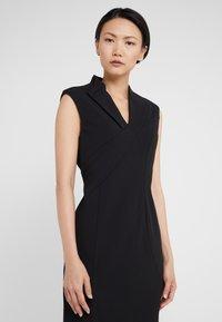 DKNY - CURVE SEAM MIDI SHEATH - Shift dress - black - 5