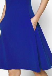 DKNY - FIT & FLARE - Jersey dress - sapphire - 5