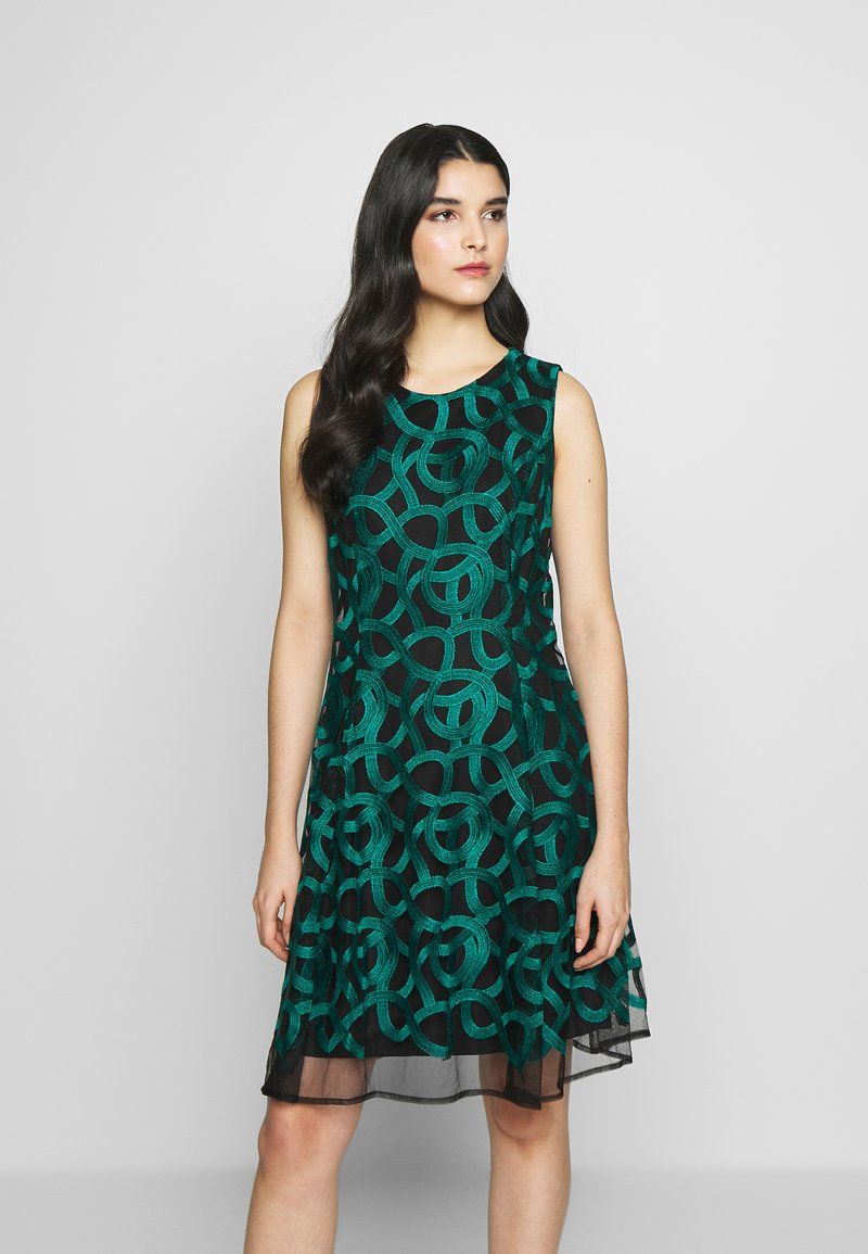DKNY - FIT FLARE - Hverdagskjoler - emerald