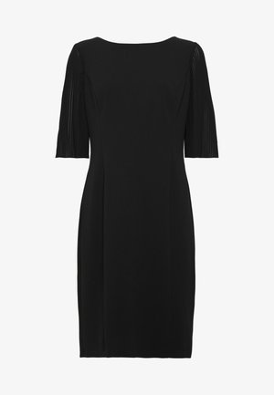 PLEAT SLEEVE SHEATH - Etuikjole - black