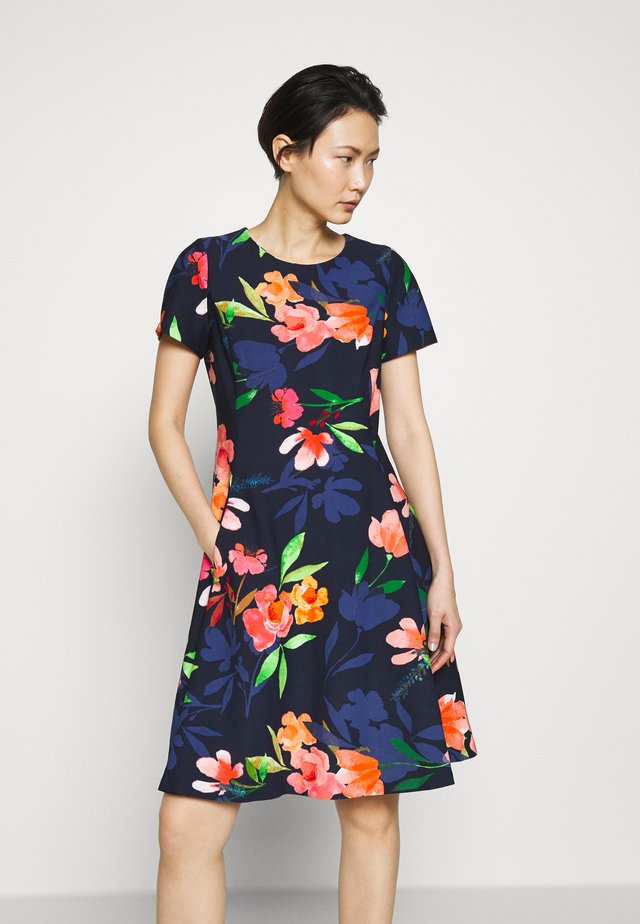 Day dress - flower midnight multi