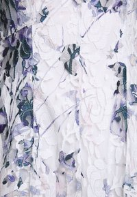 DKNY - RUFFLE EDGE FIT AND FLARE - Cocktailklänning - petunia white/lilac - 6
