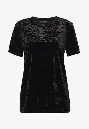 LOGO TEE - T-shirts print - black