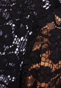 DKNY - MOCK NECK POPLIN - Bluser - black combo - 3