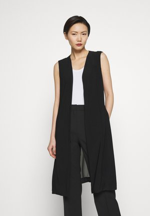 FOUNDATION VEST SHEER BACK - Waistcoat - black