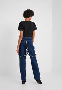 DKNY - PANT - Jeans straight leg - indigo - 2