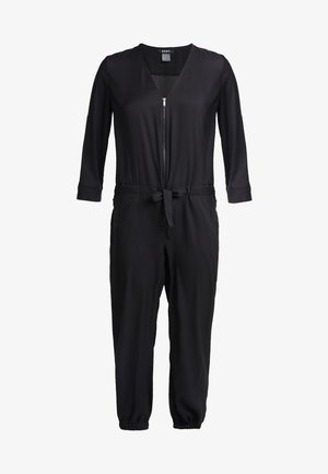 ROLL TAB - Jumpsuit - black