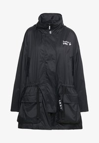DKNY - THE WAIST COAT POCKETS - Pitkä takki - black - 5