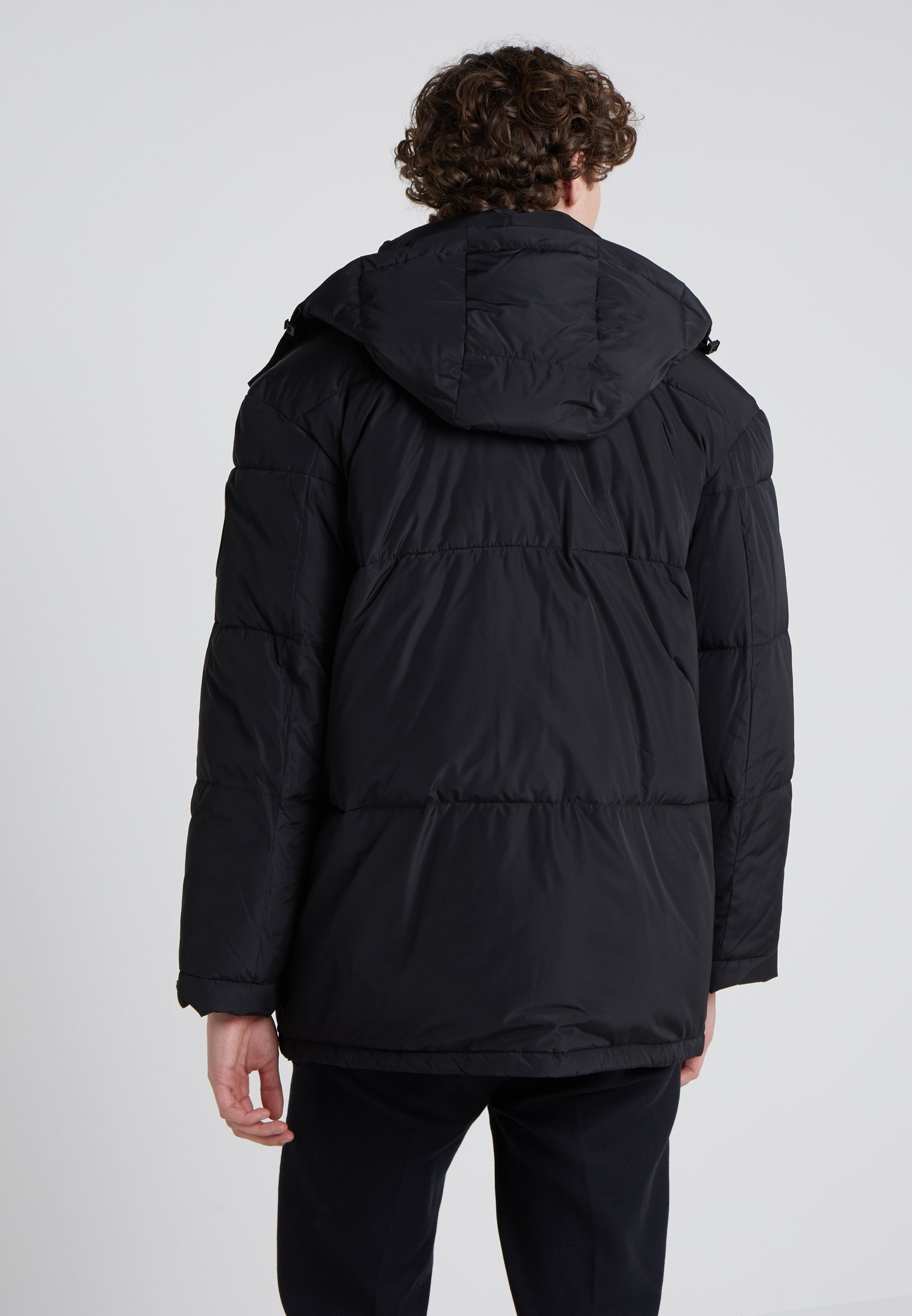 Updated Black New Dkny D'hiver BubbleVeste rChtQdsBx