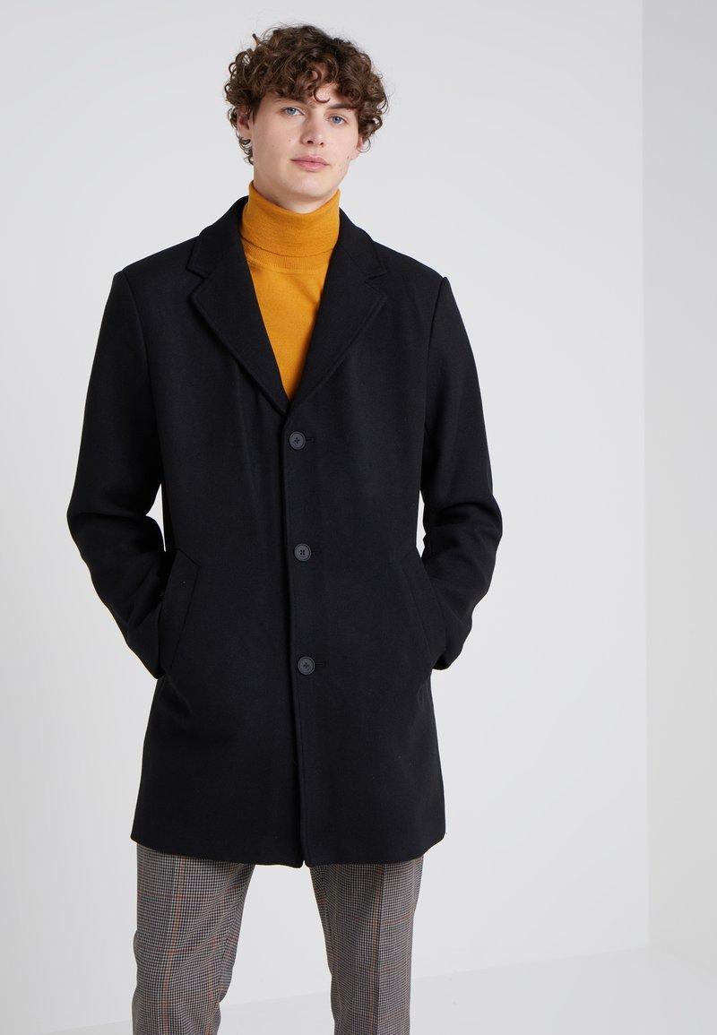 DKNY - LONG TOP COAT - Classic coat - black