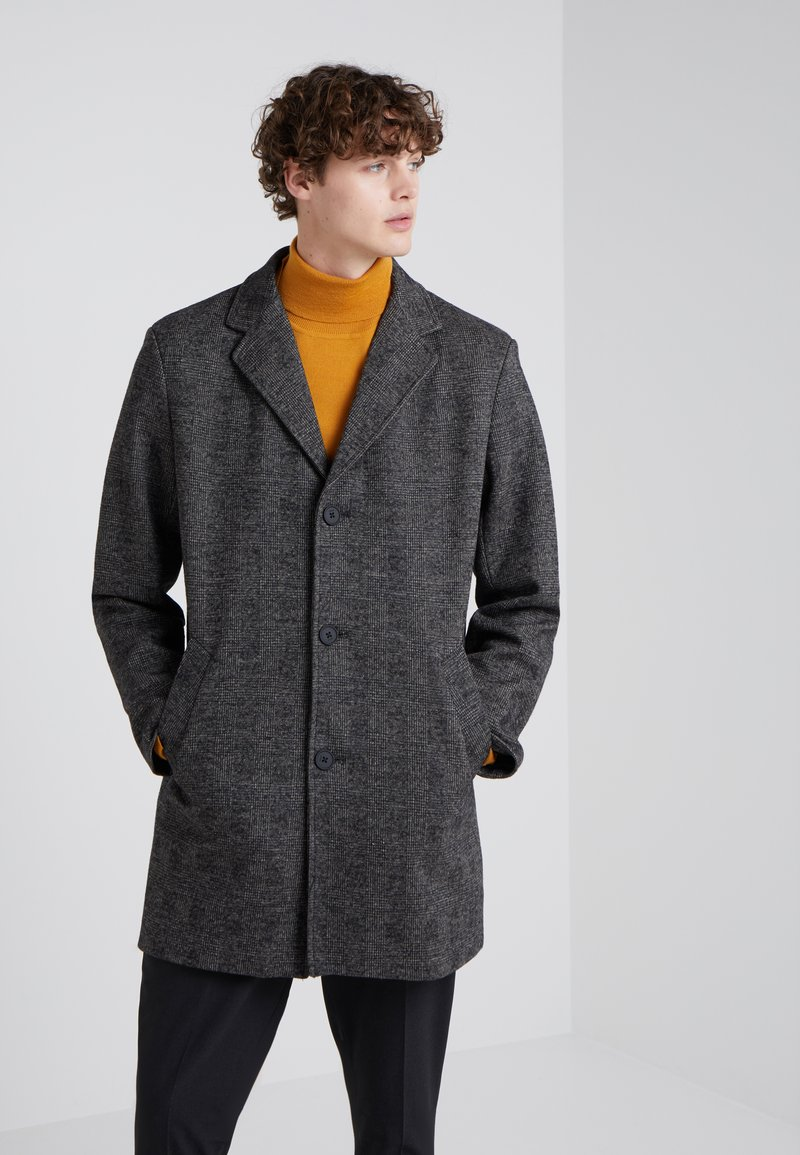 DKNY - LONG TOP COAT - Classic coat - prince of wales
