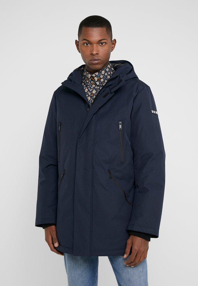 TROOPER LONG LOGO - Winter coat - navy